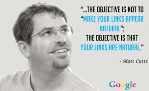 natural link building guide by matt cutts